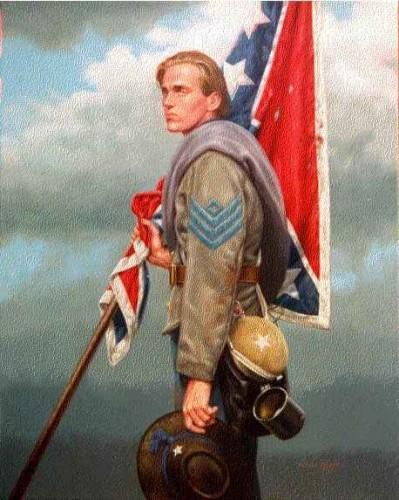 Гражданская война в США в рисунках