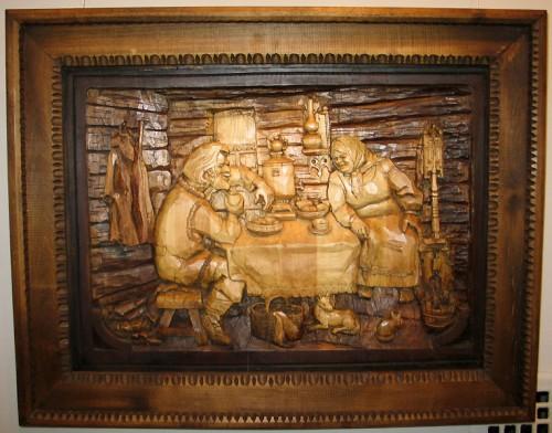 Работы мастера Кронида Гоголева из Карельского города Сортавалы. Фото.