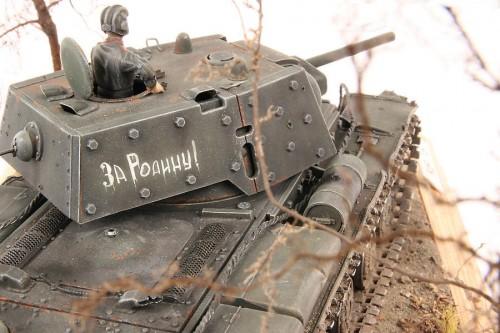 Танк KВ-1Б.