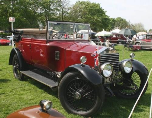 Выставка автомобилей 1915 г. - 1980 г. в г. Бирмингеме, Великобритания. Фото.