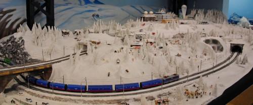 Самая большая в мире модель железной дороги Miniature Wunderland. Часть 2.
