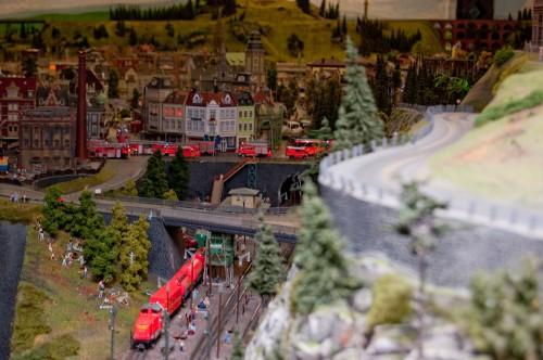 Самая большая в мире модель железной дороги Miniature Wunderland. Часть 4.