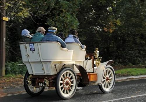 London to Brighton Vintage Car Run.