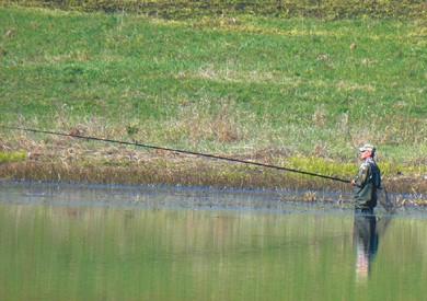 Маскировка на рыбалке.