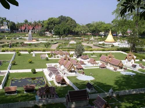 Парк Миниатюр - Мини-Сиам в Тайланде. Часть 1.