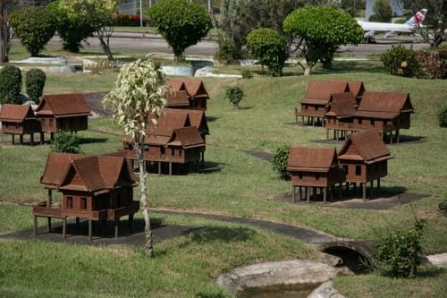 Парк Миниатюр - Мини-Сиам в Тайланде. Часть 2.