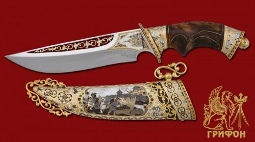 Украшенное оружие - Ножи охотничьи. Часть 2. (19 фото)
