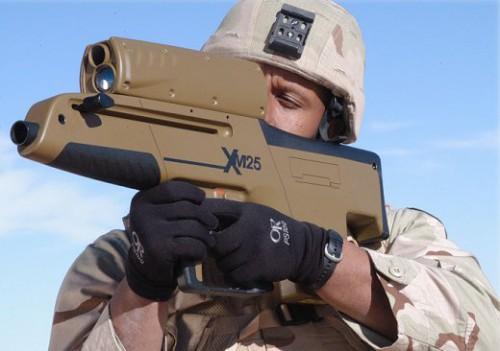 Новый американский ручной гранатомёт.
