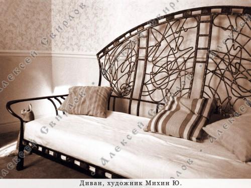 Работы кузнеца-художника Алексея Свирлова. Кованная мебель. 17 фото.