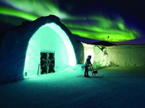 Ледяной отель ICEHOTEL в Юккасъярви. (Швеция). Часть 1. (36 фото)
