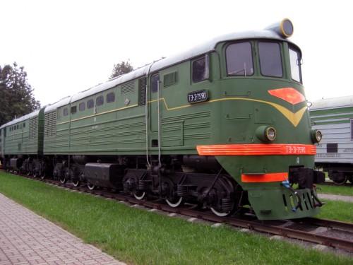 ТЕПЛОВОЗ ТЭЗ-759О Построен в
