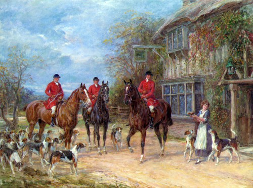 Работы художника Heywood Hardy (1842 г. - 1933 г.) 30 фото.