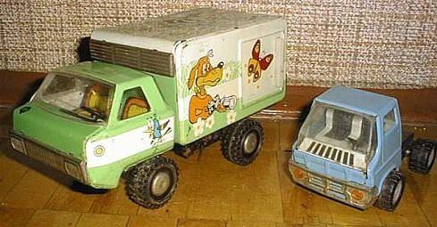 Игрушки нашего детства.