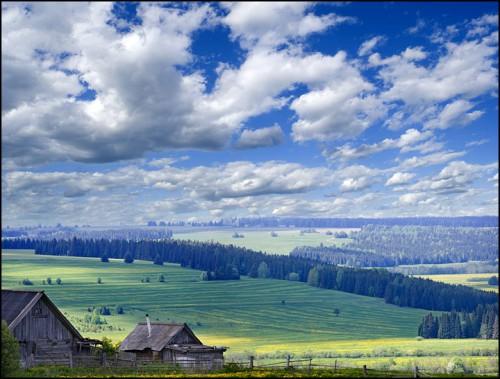 Российские просторы глазами Дениса Бурдина. (45 фото)