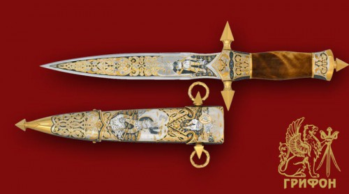 Украшенное оружие - Кинжалы. (26 фото)