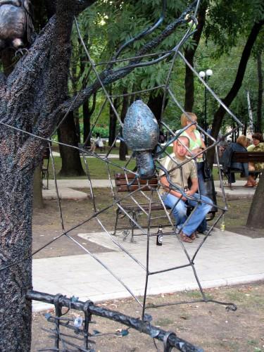 Парк кованых фигур в Донецке. Часть 1. (41 фото)