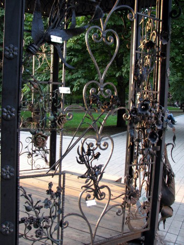 Парк кованых фигур в Донецке. Часть 2. (41 фото)