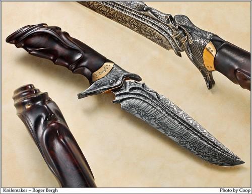Эксклюзивные ножи ручной работы