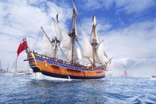 Парусные Корабли. (35 фото)