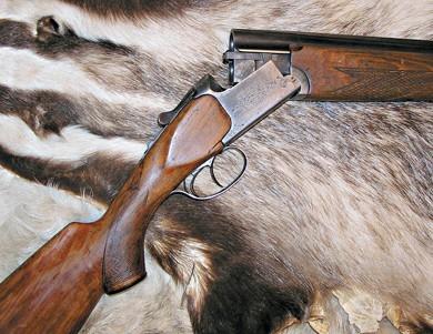 Старое, но надежное ружье.
