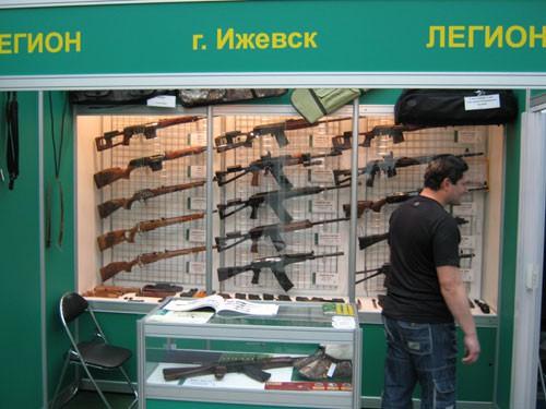 Московская международная выставка «ARMS & Hunting 2010» («Оружие и Охота 2010»). Часть 2. (55 фото)