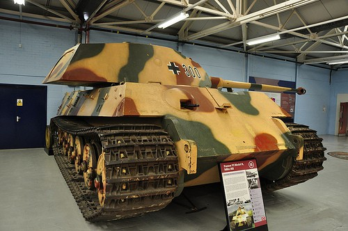 Танковый музей в Бовингтоне (Англия). Часть 1. (50 фото)