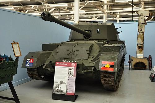 Танковый музей в Бовингтоне (Англия). Часть 2. (50 фото)