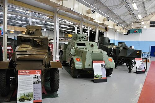 Танковый музей в Бовингтоне (Англия). Часть 3. (50 фото)