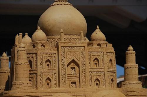 Скульптуры из песка. Часть 5. (50 фото)
