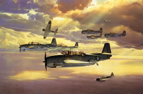 Авиация Второй мировой войны в картинках. Часть 3. (25 фото)
