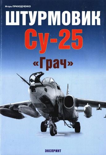 """Штурмовик Су-25 """"Грач""""."""