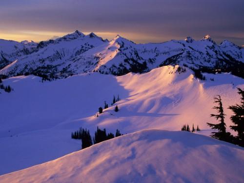 Зимние пейзажи. (54 фото)