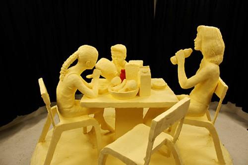 Масляные скульптуры Джима Виктора. (40 фото)