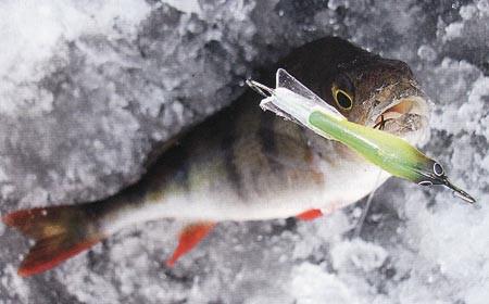 Балансир + «мушка» для зимней ловли.