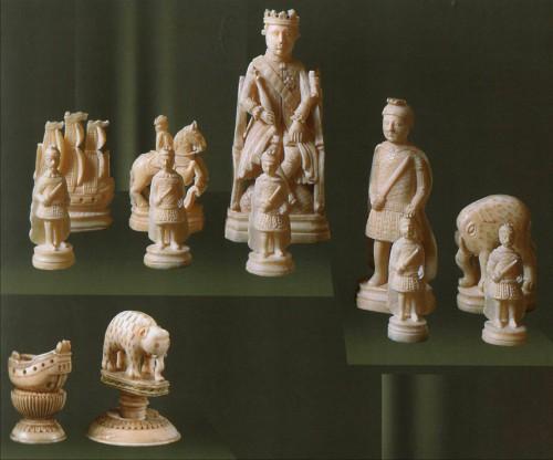 Холмогорская резная кость. Часть 1. (15 фото)
