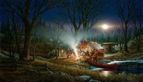 Работы художника Terry Redlin. Часть 2. (30 фото)