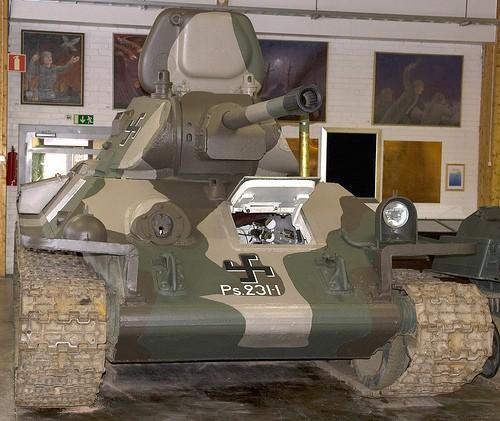 Танковый музей в Парола (Финляндия). Часть 4. (36 фото)