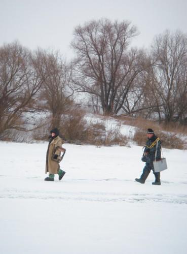 Особенности ловли со льда в разных условиях. Часть 1. Большие водоемы.