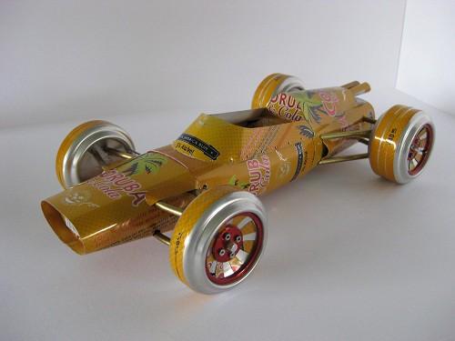 """Сэнди Сандерсон (Sandy Sanderson) и его коллекция """"баночных"""" автомобилей. Часть 1. (35 фото)"""