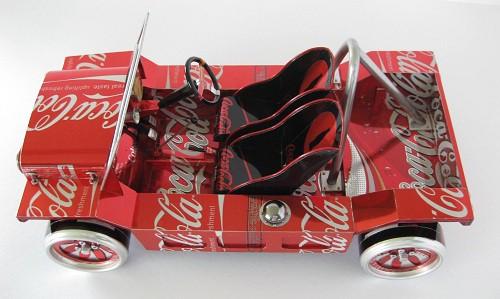"""Сэнди Сандерсон (Sandy Sanderson) и его коллекция """"баночных"""" автомобилей. Часть 2. (41 фото)"""
