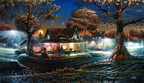 Работы художника Terry Redlin. Часть 4. (30 фото)