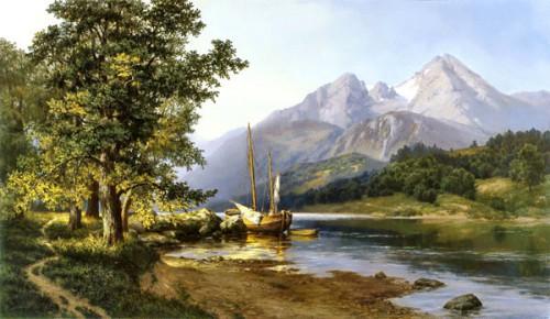 Работы художника Михаила Сатарова. Пейзажи. Часть 1. (25 фото)