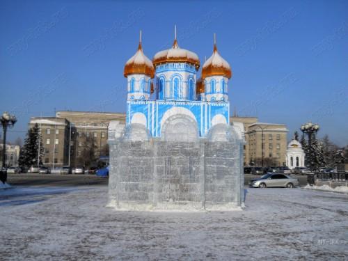 Ледовые и снежные скульптуры. (45 фото)