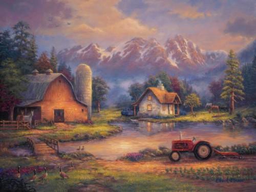 Работы художника Чак Пинсон (Chuck Pinson).