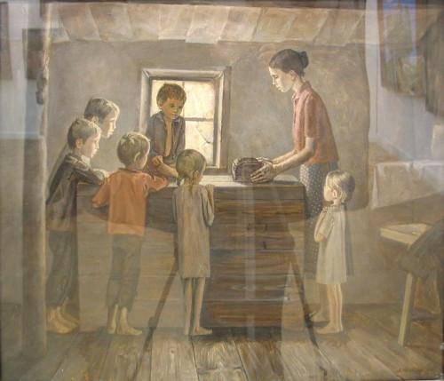 Картины о Великой Отечественной войне. Часть 2. (35 фото)