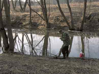 Вести с водоемов. Апрель 2011.