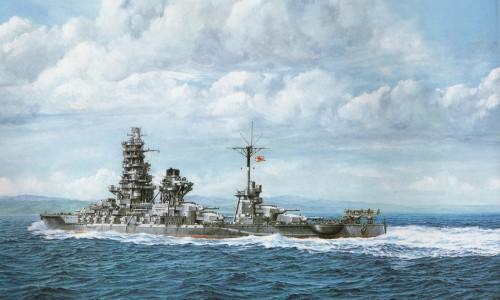 Имперские японские военные корабли. Часть 1. (25 фото)