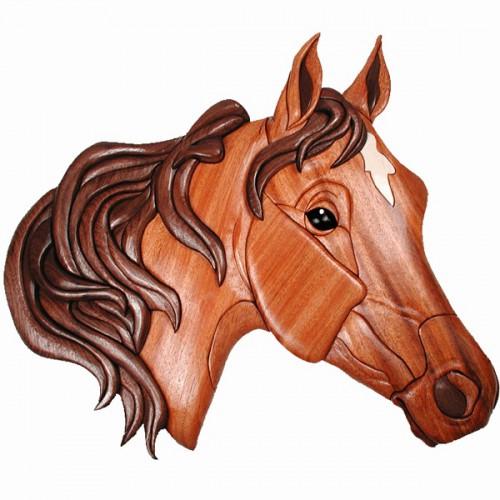 Маска коня своими руками фото