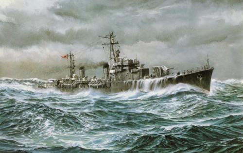 Имперские японские военные корабли. Часть 2. (25 фото)