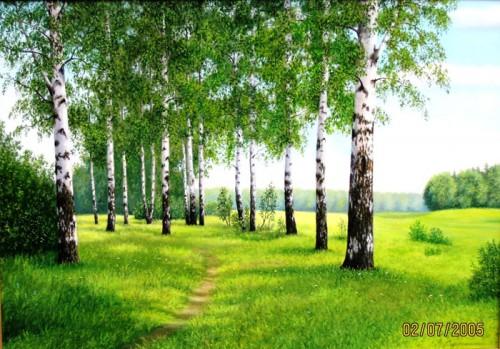 Работы художника Сергея Сержпинского. (19 фото)